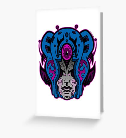 Mind Warp! Greeting Card