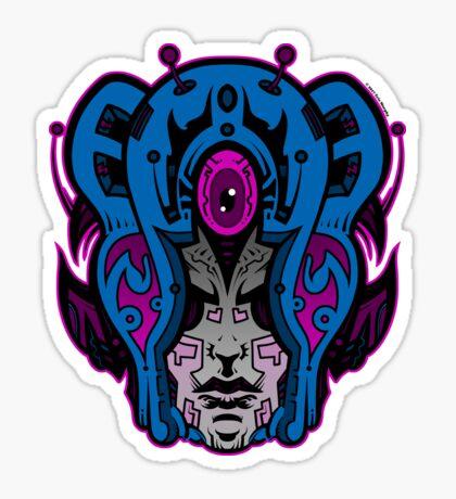 Mind Warp! Glossy Sticker