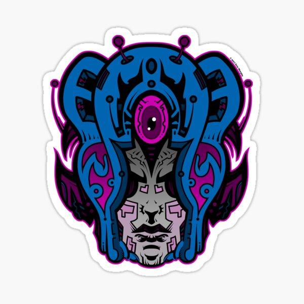 Mind Warp! Sticker