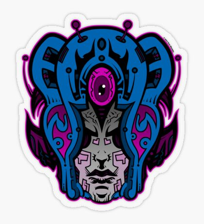 Mind Warp! Transparent Sticker