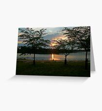 DC Sunset Greeting Card