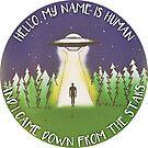 Hallo, mein Name ist menschlich von retr0babe