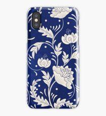 Retro Vintage Russian Flower Pattern iPhone Case/Skin