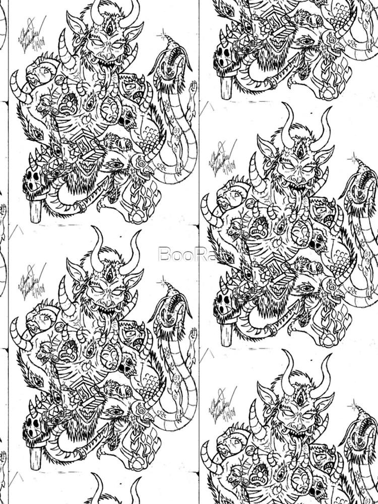Japanese Oni of Mask by BooRat