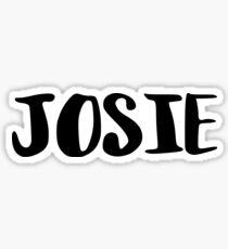 Josie Sticker