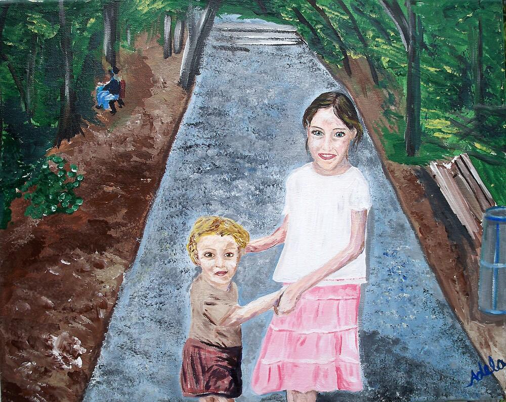 """""""My Favorite Cousin"""" by Adela bellflower"""