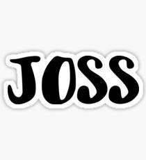Joss Sticker