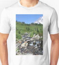 Rainier Waterfall 1 T-Shirt