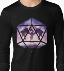 Purple Sky Dragon D20 T-Shirt