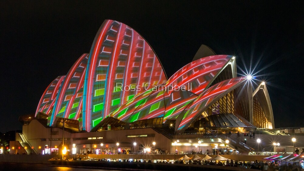Sydney Opera House by Ross Campbell