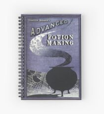 Advanced Potion Making Spiral Notebook