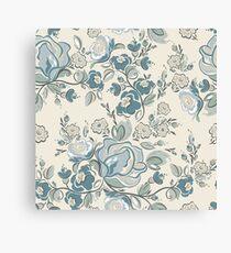 Seamless-Russian-Flower-Pattern Canvas Print