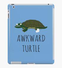 AWKWARD TURTLE iPad Case/Skin