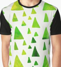 Cute Abstract Pattern Graphic T-Shirt
