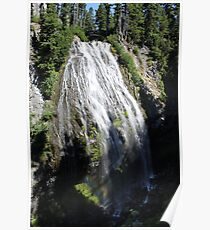 Rainier Waterfall 2 Poster