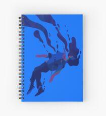 Cuaderno de espiral Colapsando
