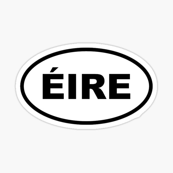 Éire International Sticker Sticker