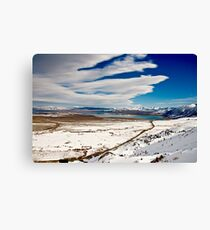 OWENS VALLEY VIEW Canvas Print
