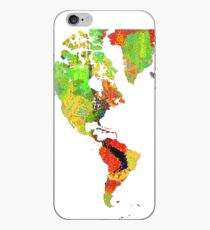 World Map 6 iPhone Case