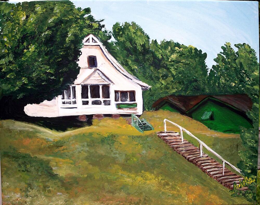 """Kaufmann Camp"" by Adela bellflower"