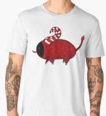 Krampus   Christmas Holiday   Mythology Illustration Men's Premium T-Shirt