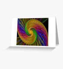Swirls of Love Greeting Card