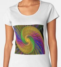 Swirls of Love Women's Premium T-Shirt