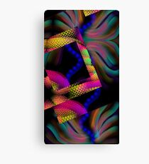 Whimsical Majestic Sea Abstract design Canvas Print