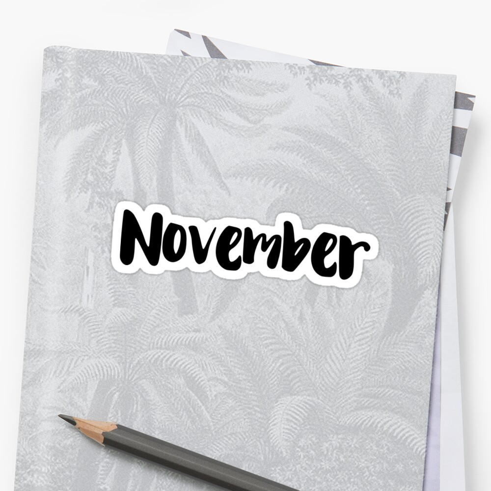 November by FTML