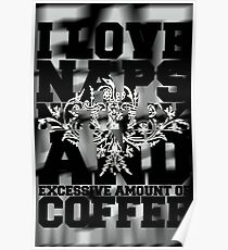Coffee - Excessive Amount Poster