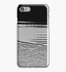 Trumpeter swan and ripples iPhone Case/Skin
