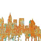 Atlanta, Georgia Skyline - Rost von Marlene Watson