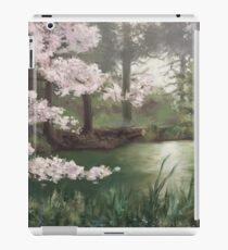 Cherry Blossoms by the Lake  iPad Case/Skin