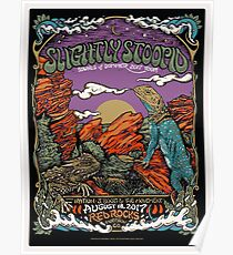 Slightly Stoopid, Sounds of Summer 2017 Tour, With Iration, J.Boog & Movement, August 18, 2017 Red Rocks Morrison. CQ Poster