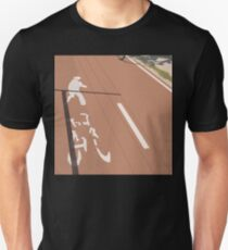 0152 Pedestrian and cycle path T-Shirt