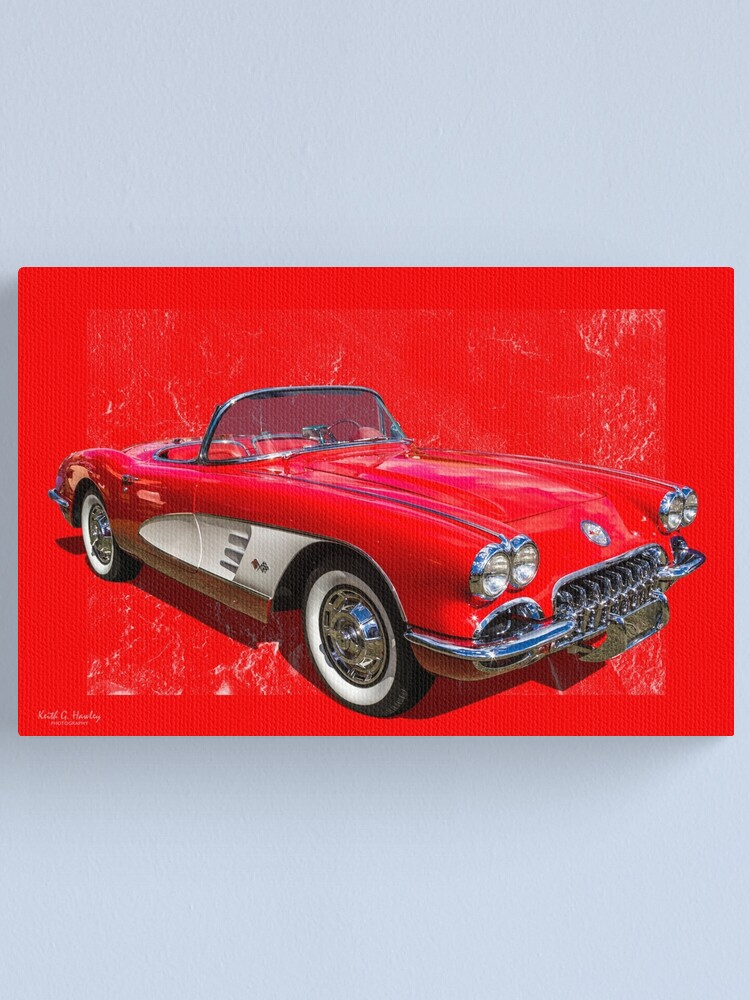 Alternate view of Red 59 Canvas Print