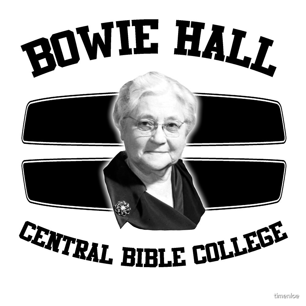 BOWIE HALL CBC by timenloe