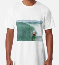Bodyboarder in action Long T-Shirt