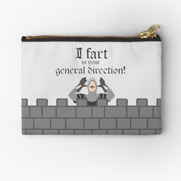 French Taunting Guard Zipper Pouch