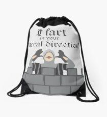 French Taunting Guard Drawstring Bag