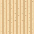 Cute Heart Modern Tuscan Stripes Pattern by Nhan Ngo