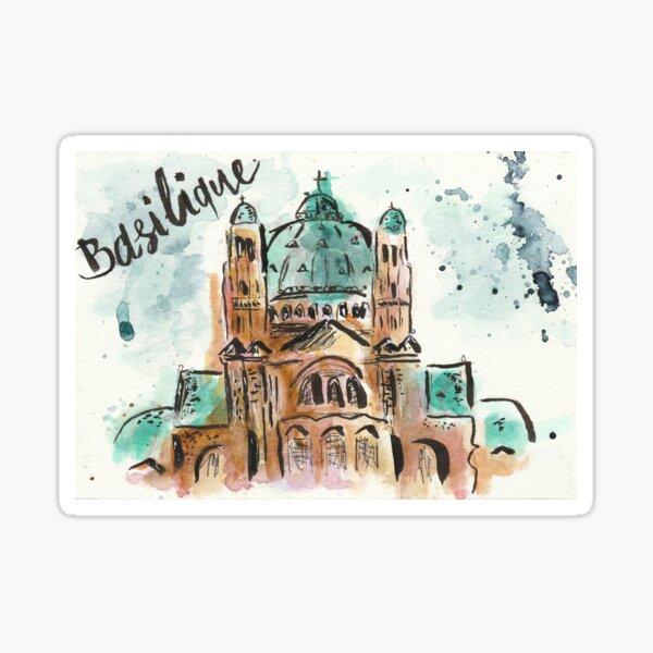 Basilique Brussels Sticker