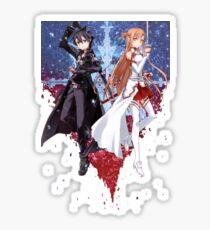 Sword Art Online (Kirito & Asuna) Sticker