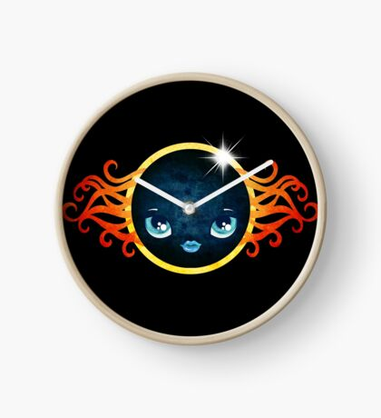 Solar Eclipse 2017 Clock