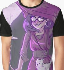 Not so spooky witch Graphic T-Shirt