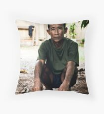 Mr Chivy Throw Pillow