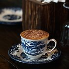 Blue Cup of Latte by the-novice
