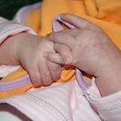 Baby hands by Catherine Tranter
