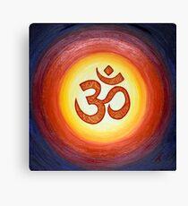 OM Mandala Canvas Print