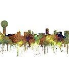 Skyline von Knoxville, Tennessee von Marlene Watson